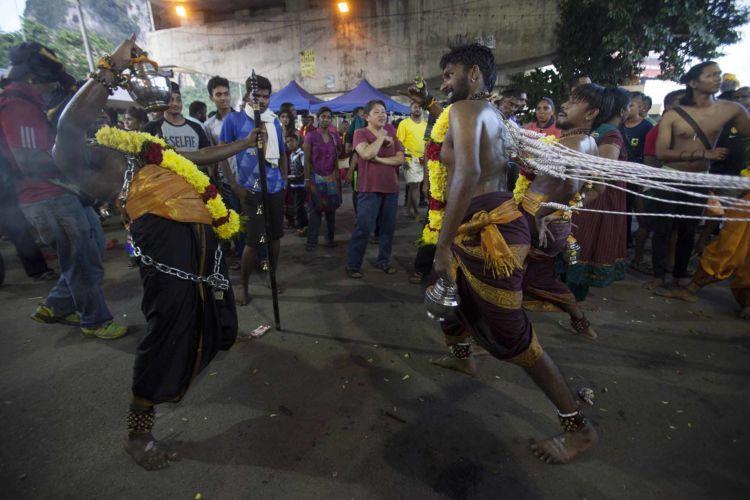 Thaipusam Hindu festival in Kuala Lumpur