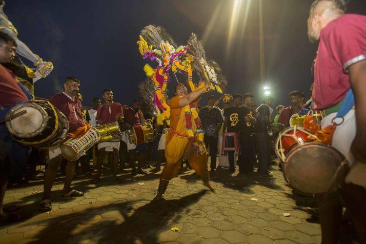Thaipusam Hindu festival in Malaysia 2017