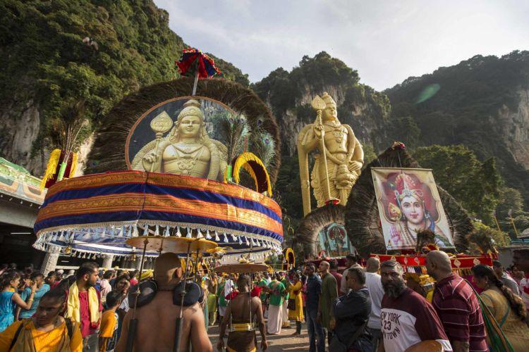 Thaipusam Hindu festival in Malaysia