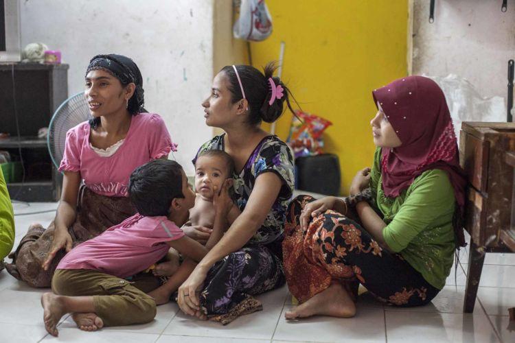 Rohingya children born in Malaysia