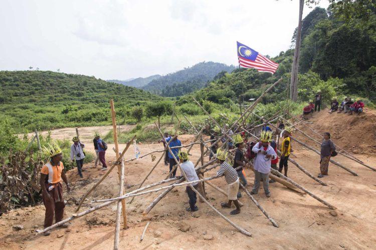 Malaysian tribe defending customary lands