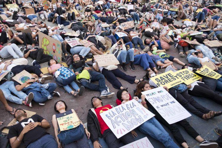 Malaysia Climate Strike march
