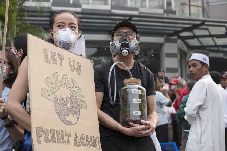 Malaysian Climate Strike march